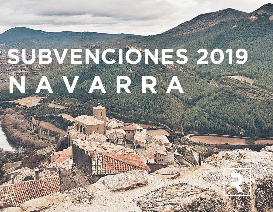 SUBVENCIONES NAVARRA 2019